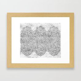The art of Persian calligraphy Framed Art Print