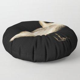 Mute Swan Portriat Floor Pillow