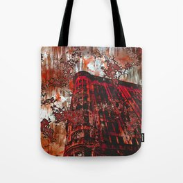 Red Broadway NYC series by Lika Ramati Tote Bag