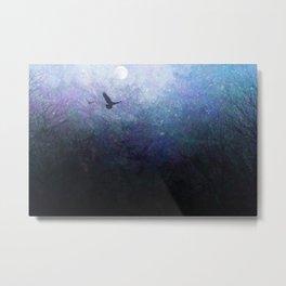 Flight of the Ravens Metal Print