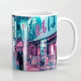 Shimmering Neon Lights of Tokyo Coffee Mug