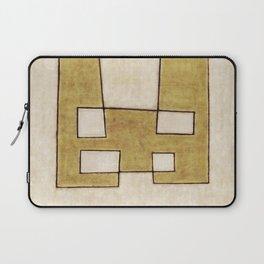 Protoglifo 06 'Mustard traverse cream' Laptop Sleeve