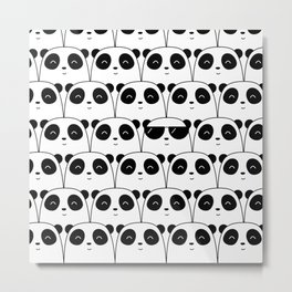 That Cool Panda Metal Print