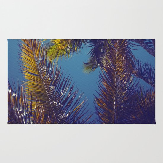 Palm Sky Rug