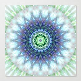 Light Mandala Canvas Print