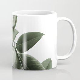 Yin Yang Ficus Glam #1 #tropical #decor #art #society6 Coffee Mug
