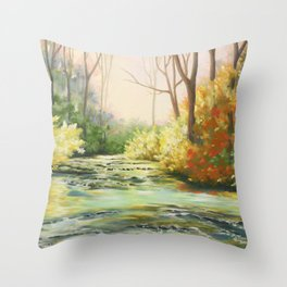 Le long du Dard Throw Pillow