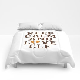 LOVE CLE BROWNS II Comforters