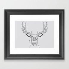 Deer, Pirate  Framed Art Print