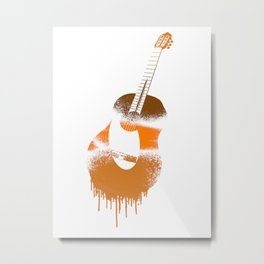 Spanish Guitar Metal Print