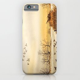 Hunting Pintail Ducks iPhone Case