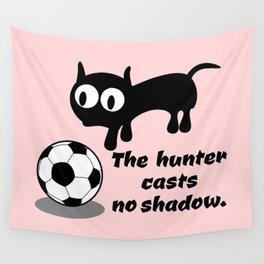 Cat Football Wall Tapestry