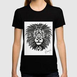 Lion Zentangle T-shirt