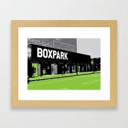 box park Framed Art Print