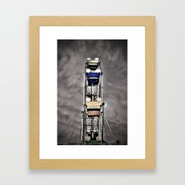 Ferris Fun Framed Art Print