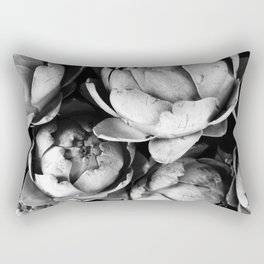 Artichokes, Food market, Groningen Rectangular Pillow