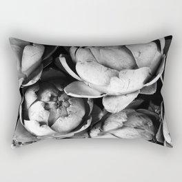 Artichokes, Food market, Groningen Rectangular Pillow