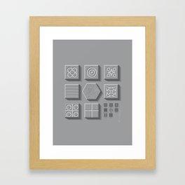 Panots, Barcelona Framed Art Print