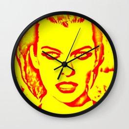 Milla Jovovich Pop Art III Wall Clock