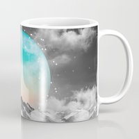 winter Mugs featuring It Seemed To Chase the Darkness Away by soaring anchor designs