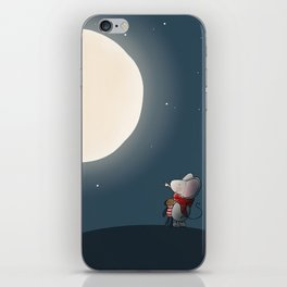 Little Mouse - Full Moon iPhone Skin
