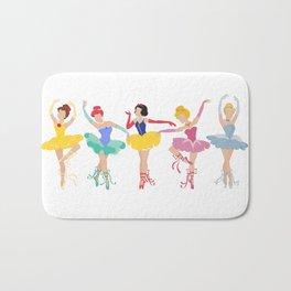 Brat Pack of Ballerina Princesses Bath Mat