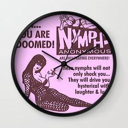 Vintage Nymphs Wall Clock