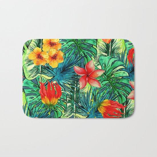 My Tropical Garden Bath Mat