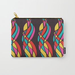 Twisted Color Carry-All Pouch