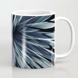 Perspective Facets-Retro Blue Coffee Mug