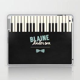 Blaine Anderson Piano Laptop & iPad Skin