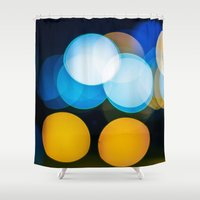 focus Shower Curtains featuring Focus by Dennis Claxon