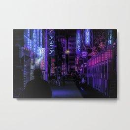 Shinjuku Nights / Night Visions Metal Print