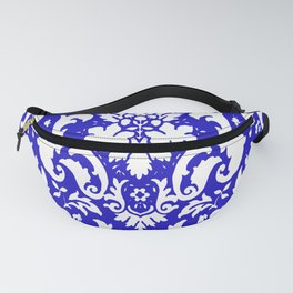 PAISLEY DAMASK BLUE AND WHITE 2019 PATTERN Fanny Pack