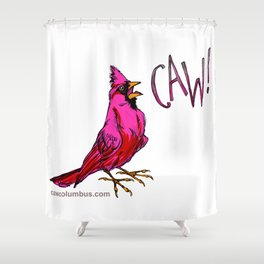 CAW! Shower Curtain