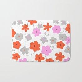 Big Flowers Bath Mat