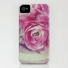 Pink Ranunculus  iPhone (4, 4s) Slim Case