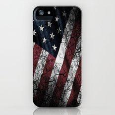 AMERICAN FLAG iPhone (5, 5s) Slim Case