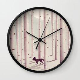 Serene Forest Wall Clock