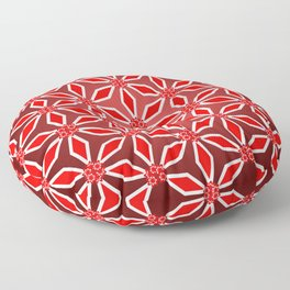 Flowers and patterns Floor Pillow