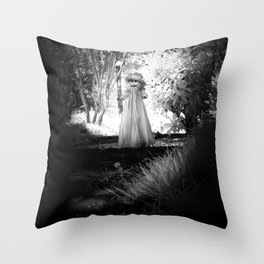 Dark Doll Throw Pillow