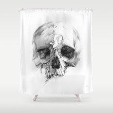 Skull 46 Shower Curtain