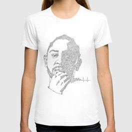Kendrick Lamar Portrait: #blacklivesmatter T-shirt
