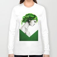 clover Long Sleeve T-shirts featuring Clover by Isaiah K. Stephens