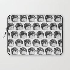 Minifigure Pattern Laptop Sleeve