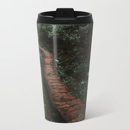 Olympic National Park Forest Trail Metal Travel Mug