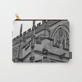 B&W Church Facade Carry-All Pouch