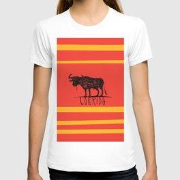 bullfighting corrida T-shirt