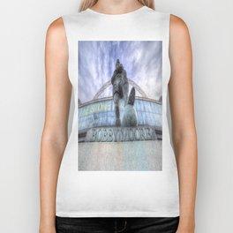 Bobby Moore Statue Wembley Stadium Biker Tank