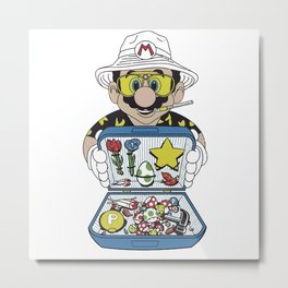 Mario - Fear And Loathing In Las Vegas Metal Print